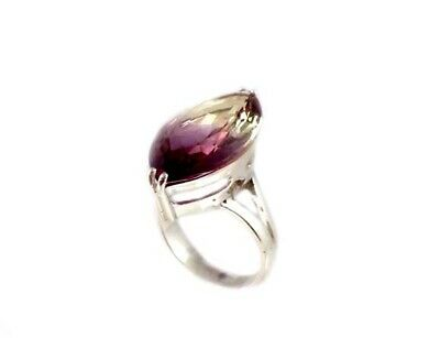 Gorgeous Ametrine Ring Medieval Scotland Gem Ancient Persian AmuletCamel Caravan 6