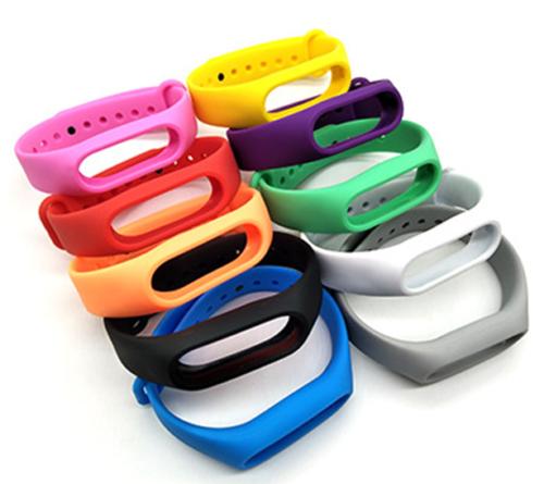 Recambio de Correa de Silicona para Pulsera Reloj Xiaomi Mi Band 2 Multicolor 2