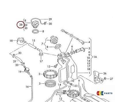 Neu Original Audi A4 A5 A8 Benzin Tankdeckel Mit Haltegurt 8K0201550L OEM