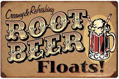 Rootbeer Drive In Sign Float Varsity Diner Rustic Retro Vintage Advertising New