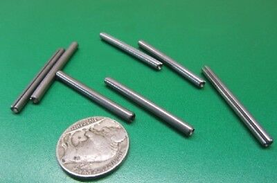 """420 Stainless Steel, Slotted Roll Spring Pin, 1/8"""" Dia x 1 1/2"""" Length, 100 pcs 4"""