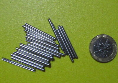 Stainless Steel.Metric Slotted Spring Pin, M2 Dia x 30 mm Length, 50 pcs 4