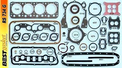 Pistons /& Rings 1955 55 DeSoto 291 HEMI V8 NEW SET
