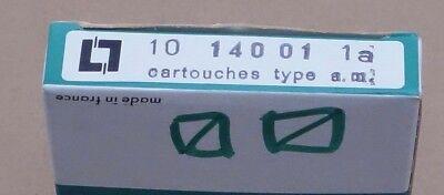 Legrand 0 140 92 14x51 0,25a am cartridge 500v pack of 10