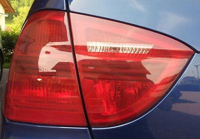 Schwarze Rückleuchten Lasierung Lasur Lasieren Ihrer BMW E90 / E91 Rücklichter