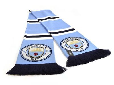 Manchester City New Crest Official Product Speckled Scarf Gift Brand Gift Idea 2