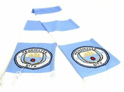 Manchester City New Crest Official Product Speckled Scarf Gift Brand Gift Idea 4