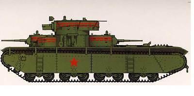 Hobby Boss 083844 Sowjetischer T-35 schwerer Panzer Late