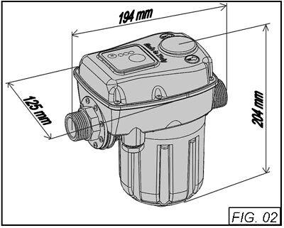 Presscontrol Regolatore di pressione elettronico BRIO TOP autoclave ITALTECNICA