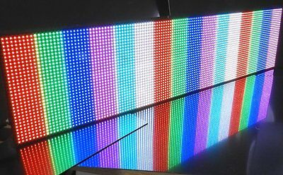 1M LONG USB LED Sign Scrolling Message RGB P10 Display, PC PROGRAMMABLE 2