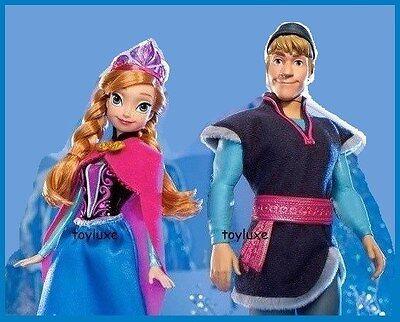NIB Disney Frozen Sparkle Kristoff Doll