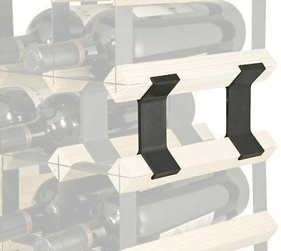 Wine Rack Connection Clips - Over 100000 Sold! Join Multiple Wine Racks Together