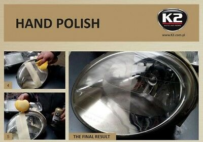 K2 Pro LAMP DOCTOR CLEANER RESTORES & POLISH YELLOWED SCRATCHED HEADLIGHT LENSES 5