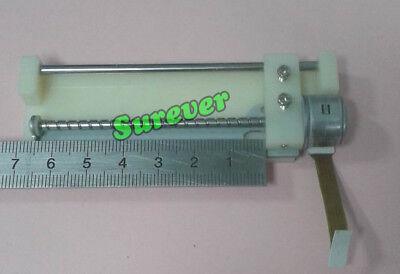 DC 4V-5V CD-ROM Stepper Motor 74mm Linear Screw 2- phase 4-wire Slider Block 2