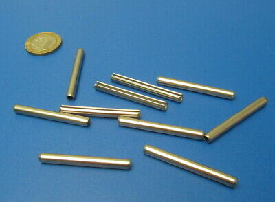 18-8 Stainless Steel Slotted Metric Spring Pin M4 Dia x 40 mm Length, 30 pcs 10