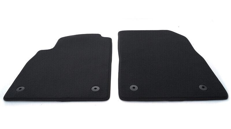 OPC alle Velours Qualität Autoteppiche Schwarz Neu Fußmatten für Opel Astra G