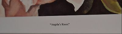 Vintage Angela's Roses Signed Paul Eade 223/1050 Limited Edition Print 4