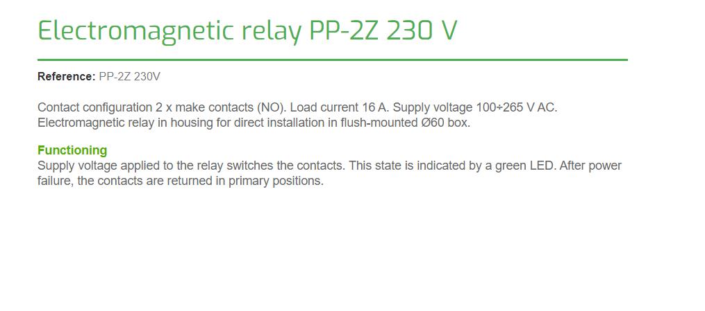 F/&F PK-4PZ 230V Elektromagnetische Relais Schaltkontakte Kontakte Spule Schütze