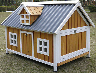 ECO LARGE CHICKEN Coop Hen House Ark Rabbit Hutch Run New Large Duck ...