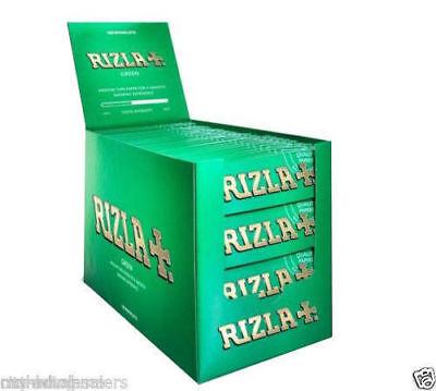 Rizla Argento Rosso Verde Blu Natura Rosa Regolare Originale Rolling Carta 3