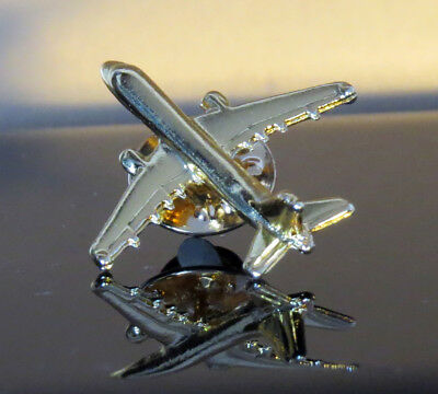 Airbus A320 Pin 3D golden airplane for pilot flight attendant mechanic etc.