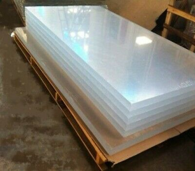 Clear Perspex Acrylic Sheet Panel Laser Cut To Size Plastic Extrude XT Material 4