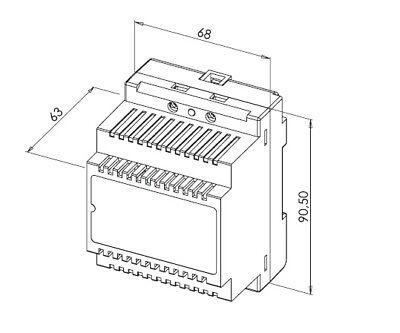 Fingerprint Video Türsprechanlage mit 7″ Monitor (weiß) und WLAN 7