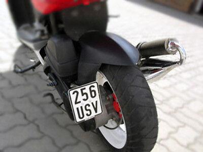 Kennzeichenhalter Peugeot Speedfight 2 & 3 für seitliche Befestigung Tuning 50er