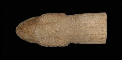 A Roman black stone animal head 3