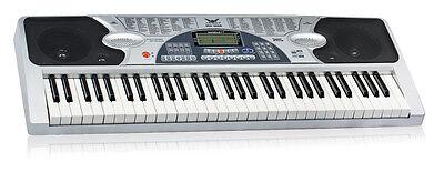 Piano Combo Stand + 61 Keys Electronic keyboard/Electric Piano/Power Adaptor 2