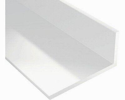 BawiTec PVC-Leiste Winkelleiste Kunststoffwinkelprofil Winkelprofil weiß 200cm