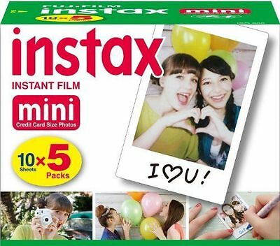 50 Prints Fujifilm Instax Mini Instant Film for 8-9 and all Fuji Mini Cameras 3