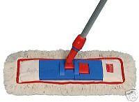 Stange Profi 50cm Wischmop System Boden Reinigung Nass Wischer Set Fransenmop