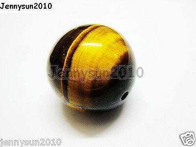 Natural Tiger's Eye Gemstone Round Beads 15.5'' 4mm 6mm 8mm 10mm 12mm 14mm 16mm 5