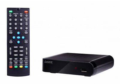 Laser Stb-6000 Hd Digital Recorder And Set Top Box Hdmi & Composite + Remote 2