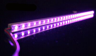 RGB Aluminium Aquarium Teichfische LED Beleuchtung  Lampe Strip Leiste Netzteil 6