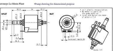 ARS Schwingkolbenpumpe 230V//50Hz  28Watt  für Medion MD14020