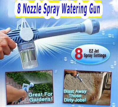 8 Nozzle Spray Watering Gun ORIGINAL Hydro Jet High Pressure Power Washer M.W™ 4
