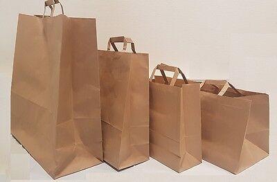ec34138140 ... sac papier avec poignées solide et résistant blanc ou marron lot de 1 à  5000 ex