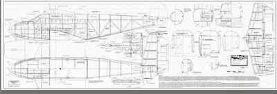 wingspan Giant 1//5 Scale BEECHCRAFT C-45 scratch build r//c Plane Plans 110 in