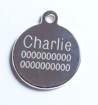 Deluxe Pet Tag Pet ID Dog Kitten Puppy Cat Name Pet Tags Personalised Engraved 4