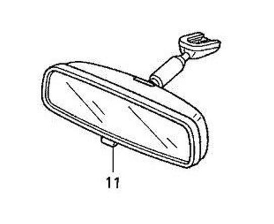 🔥Genuine OEM Honda Interior Rear View Mirror   (76400-SDA-A03) 🔥 9