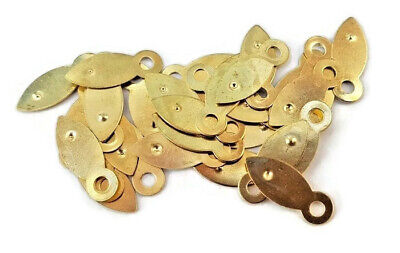 Picture Frame Clips Turn Buttons 19mm Brassed Framing Choose Quantity 3
