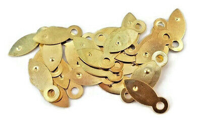 Picture Frame Clips Turn Buttons 19mm Brassed Framing Choose Quantity 7