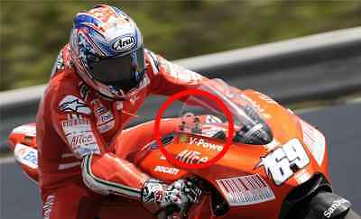 2x Kentucky Kid Nicky Hayden #69 RIDE IN PEACE decal Sticker Moto GP Rossi 46 R6
