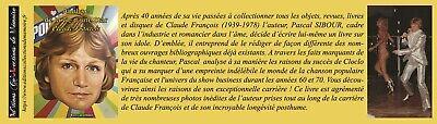 NOUVEAUTE CLAUDE FRANCOIS / LIVRE MARS 2019 + 1 marque-page CLOCLO en cadeau 2