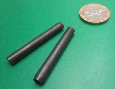 Metric Steel Slotted Spring Pin, M5 Dia x 40 mm Length, 100 pcs 3