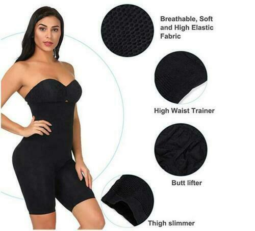 Shapermint Empetua - All Day Every Day High-Waisted Shaper Shorts Tummy Control 6