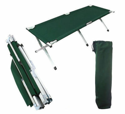 Folding Camping Bed Stretcher Light Weight Camp Portable w/ Carry Bag 3