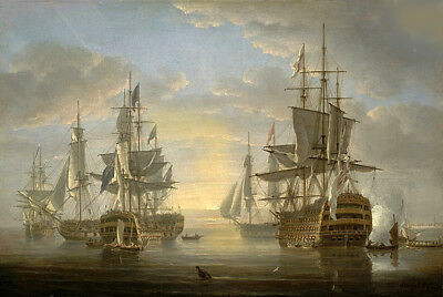 Horatio Nelson Vice Admiral Nelson 13 x 19 Color Reproduction Print